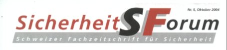 Sicherheits Forum Logo
